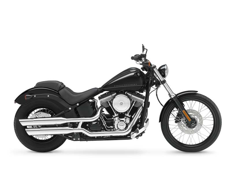 1 Harley Davidson Blackline Cycle Trader